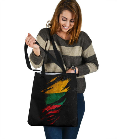 Lithuania in Me Tote Bag - Special Grunge Style A7