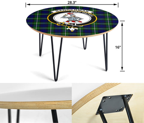 Bannerman Clans Cofee Table BN