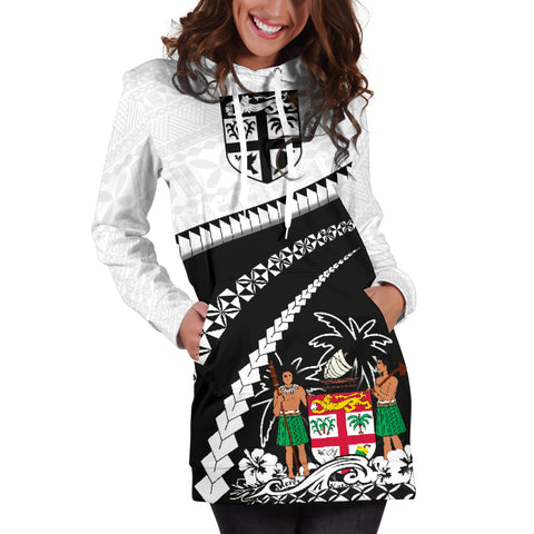 Fiji Women Hoodie Dress - Road to Hometown K4