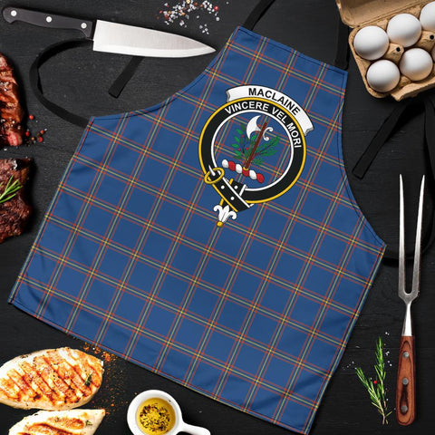 MacLaine of Loch Buie Hunting Ancient Tartan Clan Crest Apron HJ4