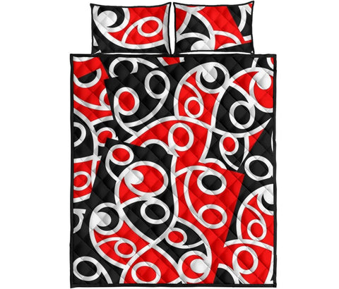 Image of Maori Quilt Bed Set 02 Bn10
