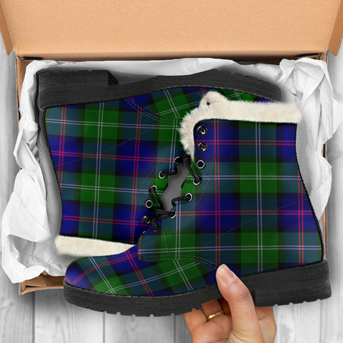 Image of Macthomas Modern Tartan Shoes