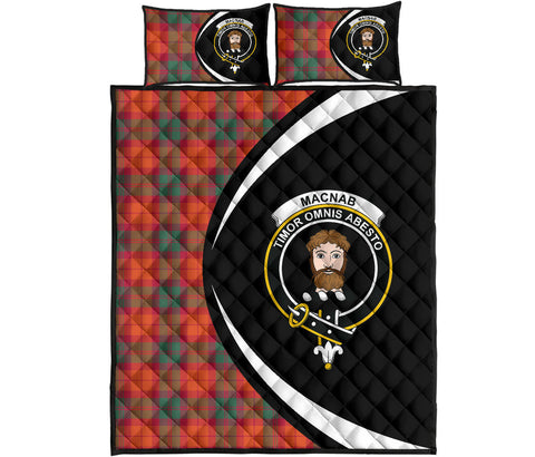 MacNab Ancient Tartan Quilt Bed Set Circle HJ4