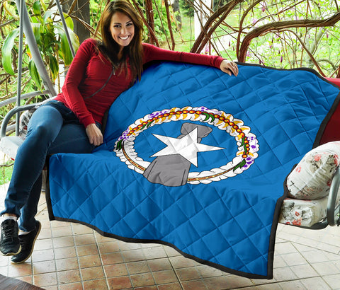 Nothern Mariana Islands Premium Quilt | Blanket | Home Decor