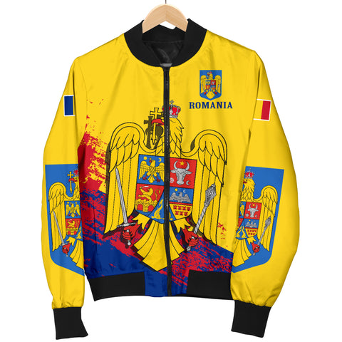 Romania Special Women's Bomber Jacket | Special Design | High Quality