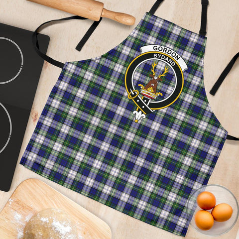 Image of Gordon Dress Modern Tartan Clan Crest Apron HJ4