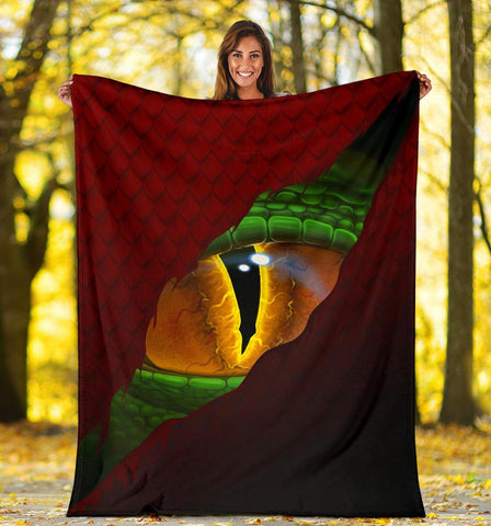 Image of Welsh Premium Blanket - Dragon Eyes | Love The World