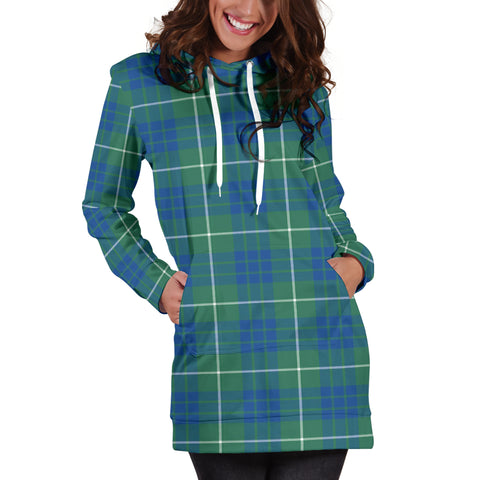 Image of Hamilton Hunting Ancient Tartan Hoodie Dress HJ4 |Women's Clothing| 1sttheworld