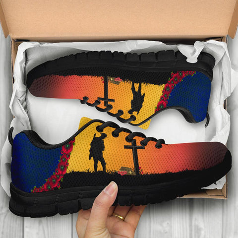 Australia Anzac Day Sneakers - Lest We Forget A31