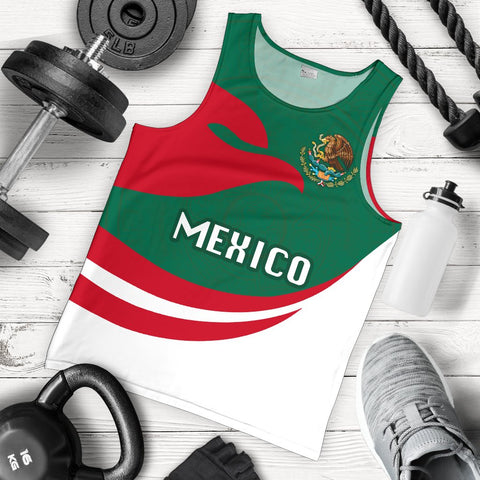 Mexico Men Tank Top Proud Version K4