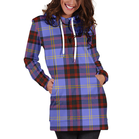 Rutherford Tartan Hoodie Dress HJ4