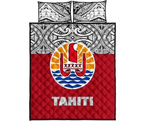 Tahiti Quilt Bed Set - Coat of Arms Version