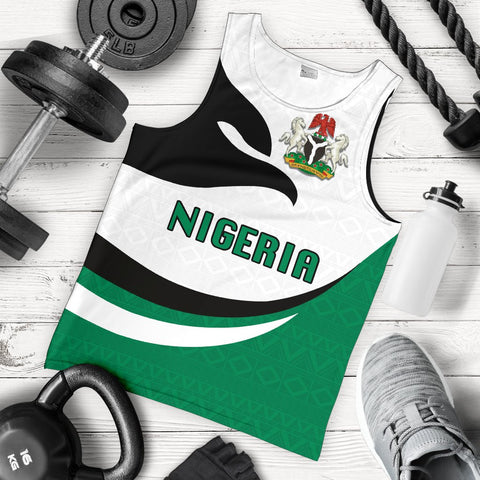 Nigeria Men Tank Top Proud Version K4