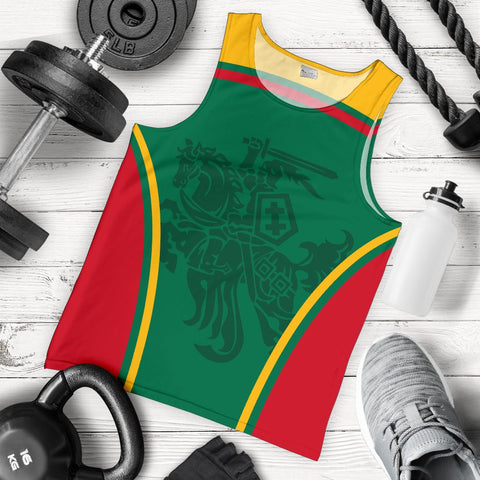 Lithuania Men's Tank Top Active Warrior A15