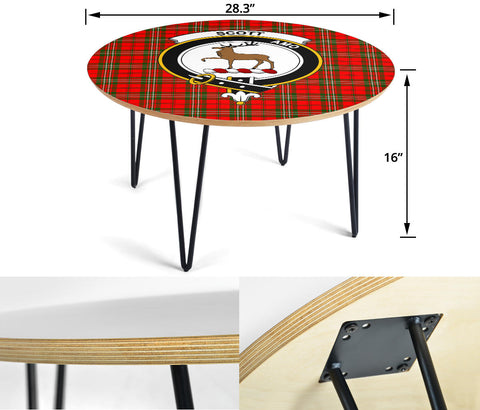 Image of SCOTT Clans Cofee Table BN