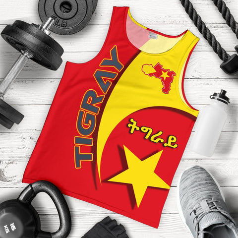 1stTheWorld Tigray Men's Tank Top New Release A25