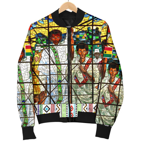 Ghana Bomber Jacket Total Liberation of Africa Men A10