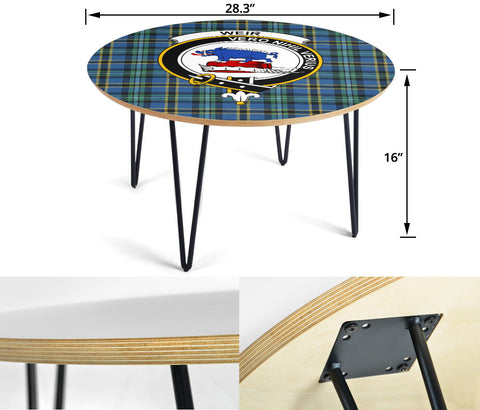 Weir Clans Cofee Table BN