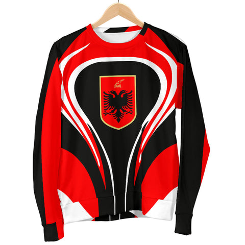 Albania Flag Men's Sweater Cannon Style - Bn101