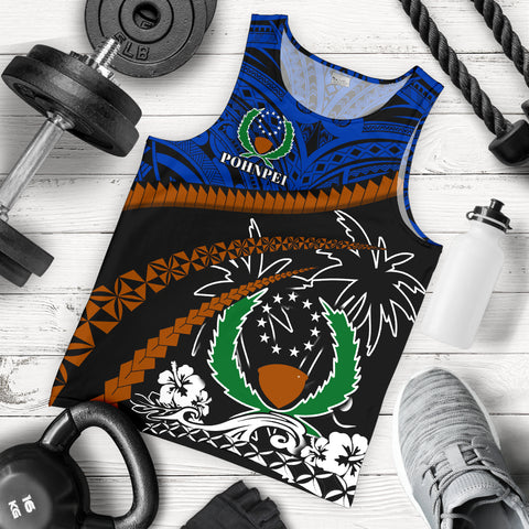 Pohnpei Men Tank Top - Road to Hometown K4