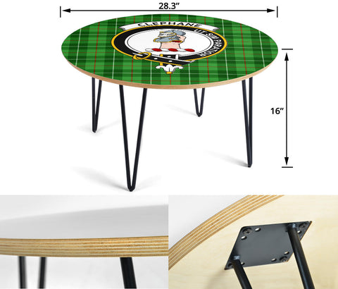 Clephane (or Clephan) Clans Cofee Table BN