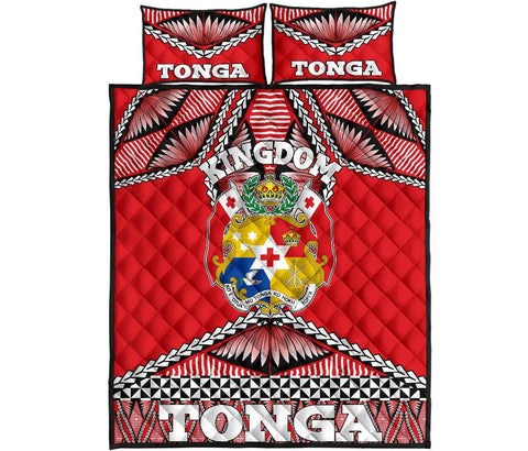 Tonga Polynesian Quilt Bed Set