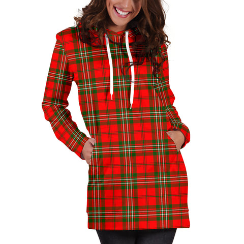 Scott Modern Tartan Hoodie Dress HJ4
