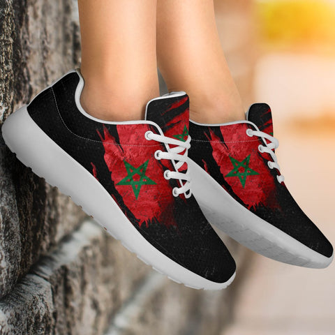 Morocco In Me Sport Sneakers - Special Grunge Style A31