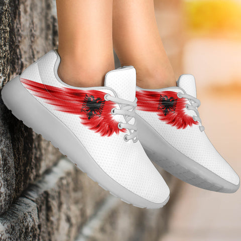 Image of Albania Sneakers Wings Flag (Women's/Men's) A7