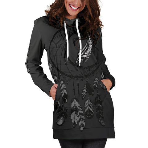 New Zealand Dreamcatcher Hoodie Dress A02 |Women's Clothing| 1sttheworld