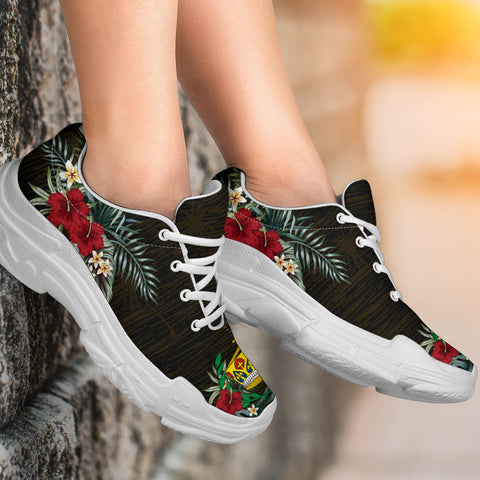 Tonga 2 Hibiscus (Men/Women) Chunky Sneakers A7.jpg