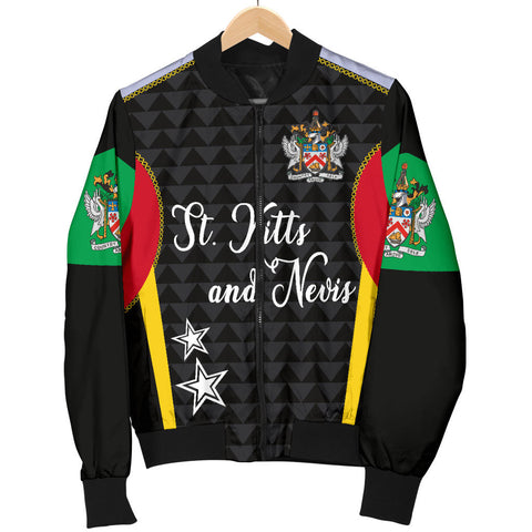 Saint Kitts and Nevis Men's Bomber Jacket Exclusive Edition K4