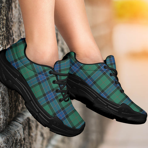 Sinclair Hunting Ancient Tartan Chunky Sneakers - BN