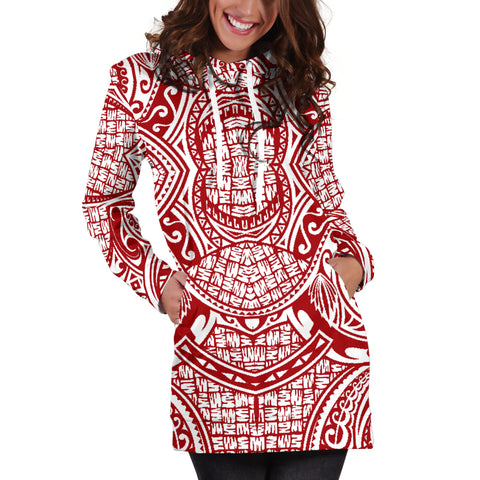 Polynesian Women's Hoodie Dress 02 - BN09 |Women's Clothing| 1sttheworld
