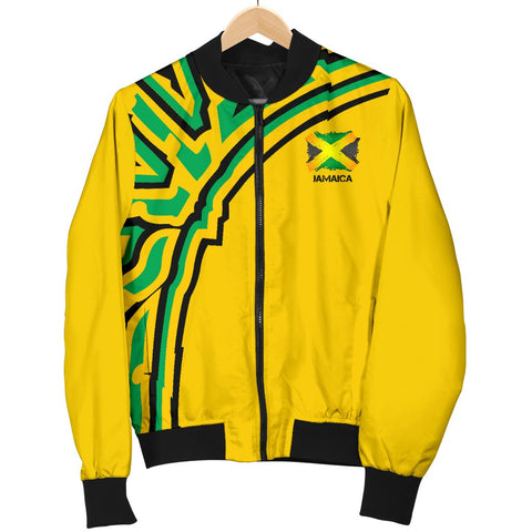 Jamaica Vintage Flag Men's Bomber Jacket A15
