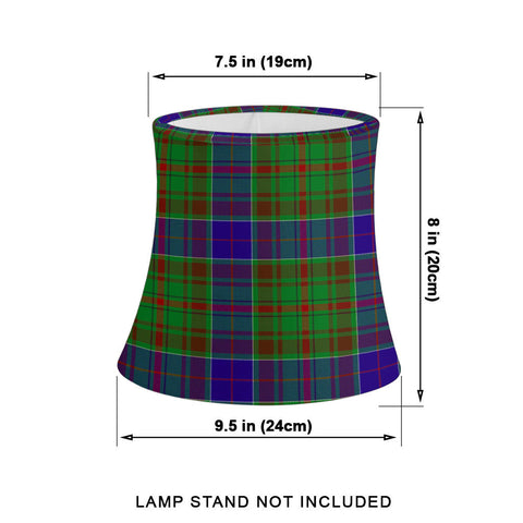 Image of Adam Tartan Drum Lamp Shade HJ4