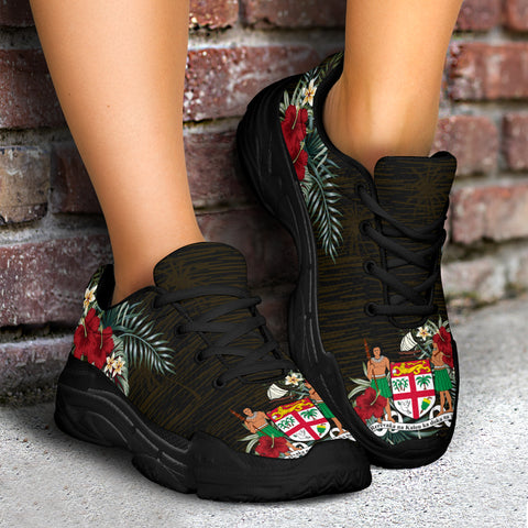 Fiji 2 Hibiscus (Men - Women) Chunky Sneakers A7