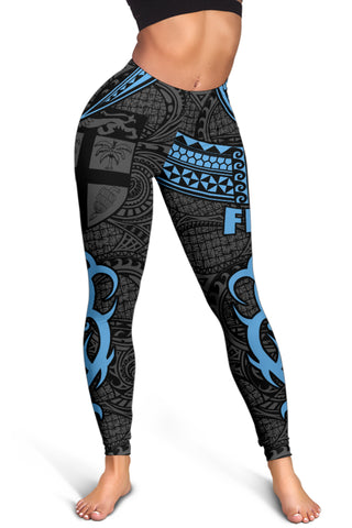 Fiji Clothing - Special Fiji Women's Leggings Blue J5
