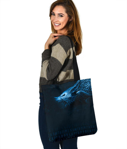 Image of Viking Style Fenrir Tote Bag A31
