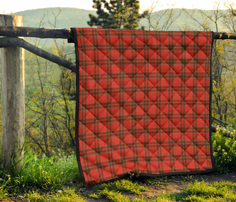 Image of Grant Weathered Tartan Premium Quilt | 1sttheworld.com
