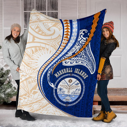 Image of Marshall Islands Premium Blanket Kanaloa Tatau Gen MH K6