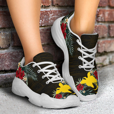 Image of Papua New Guinea Hibiscus (Men/Women) Chunky Sneakers A7