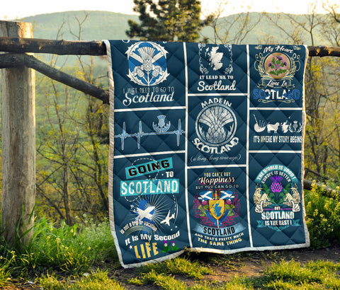 Image of Scotland Premium Quilt | 1sttheworld.com