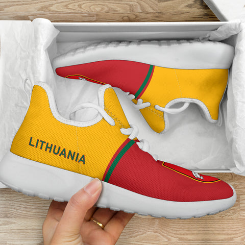 Lithuania Mesh Knit Sneakers - Curve Version
