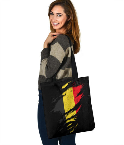 Belgium in Me Tote Bag - Special Grunge Style A7
