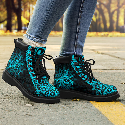 Polynesia All-Season Boots Mandala Turtle TH5