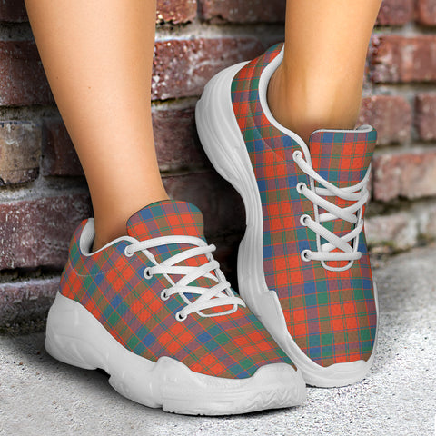 Image of Robertson Ancient Tartan Chunky Sneaker - BN