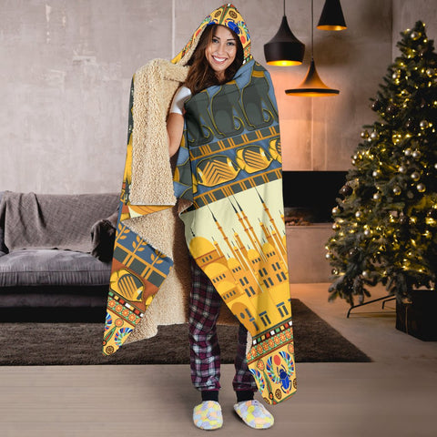 Egypt in my DNA Hooded Blanket - BN21