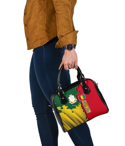 Guinea Shoulder Handbag - Independence Day