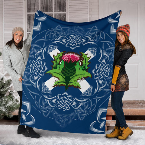 Image of Scotland Thistle Blanket